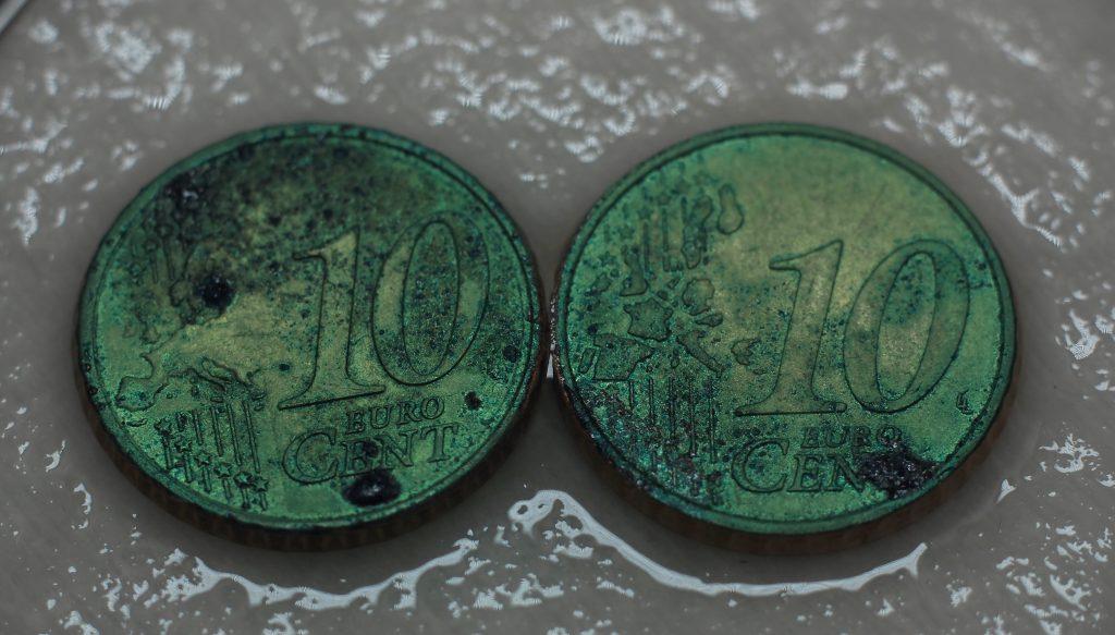 Patina na minci obsahujúcej meď - Výnimočné školy - Učíme sa spolu online